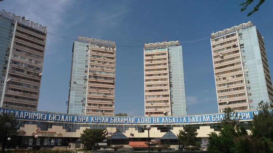 The towerblocks at Hamid Olimjon Chris Allan